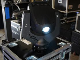 Go Green with LED moving head lights