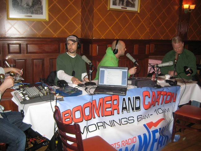Radio Show Remote Broadcast